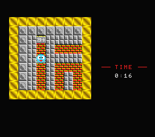 Screenshot from the original Japanese version of Maze a.k.a. Meiro 迷路)