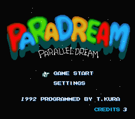 PaRaDream - Parallel Dream
